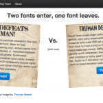 Font Fight!